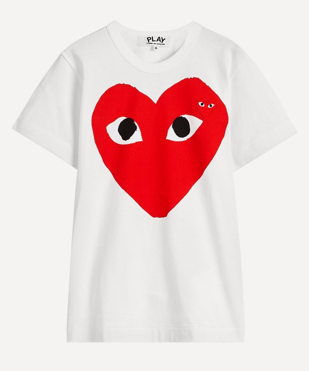 Comme des Garçons Play - Short-Sleeve Cotton T-Shirt