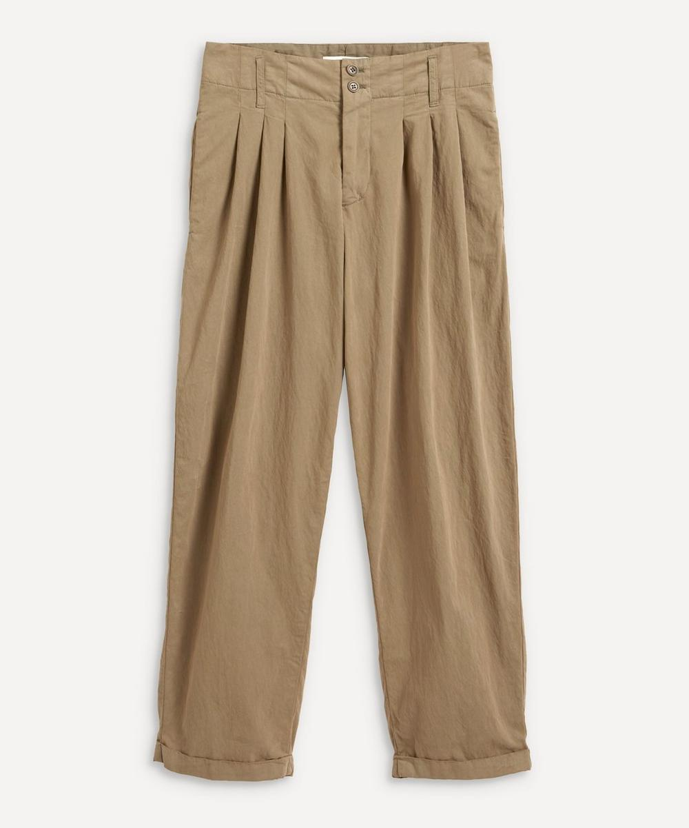YMC - Keaton Pleated Cotton Trousers
