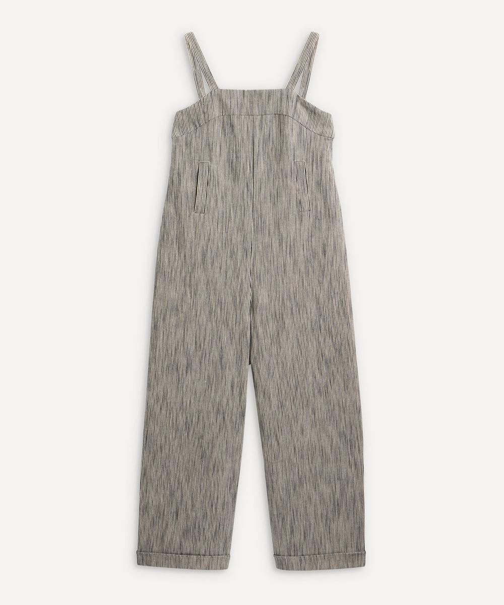 YMC - Lodge Striped Linen Jumpsuit