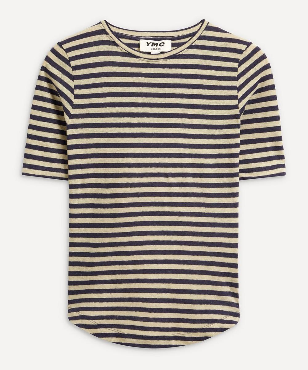 YMC - Charlotte Stripe Fitted T-Shirt