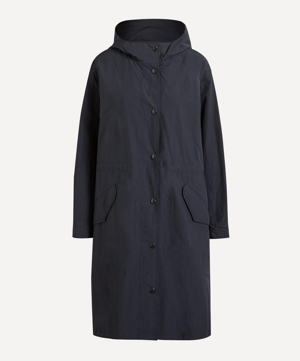 A.P.C. - Hockney Nylon Taffeta Hooded Parka Coat