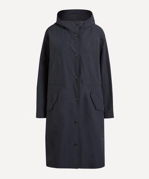 Hockney Nylon Taffeta Hooded Parka Coat