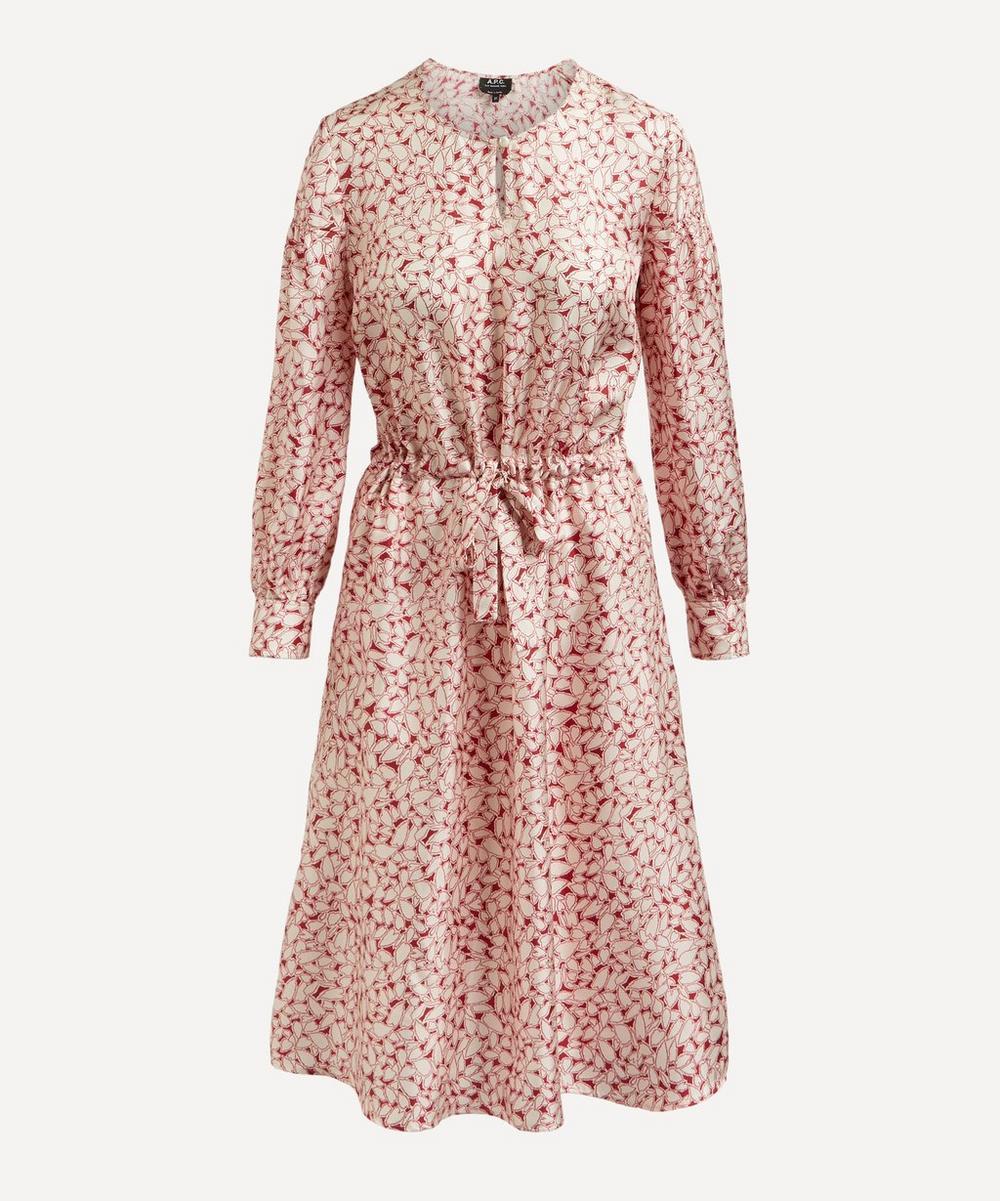 A.P.C. - Clemence Heart Print Dress
