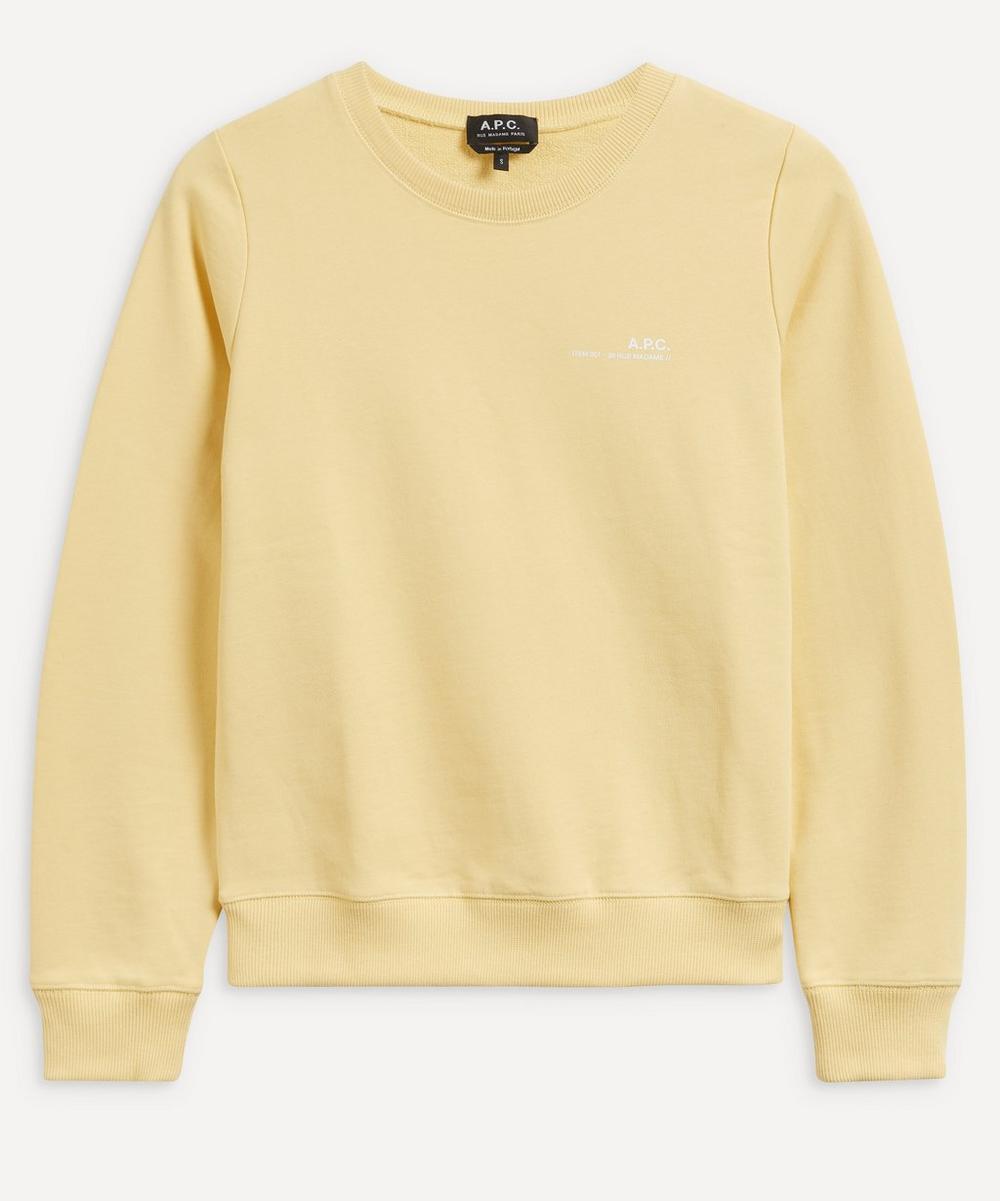 A.P.C. - Small Logo Sweatshirt