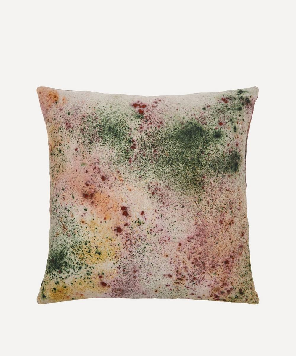 Ellen Mae Williams - Naturally Dyed Linen Cushion