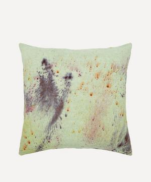 Naturally Dyed Linen Cushion