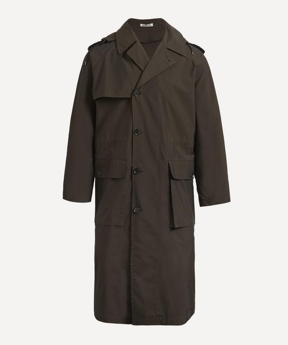 Auralee - Nylon Chambray Field Coat