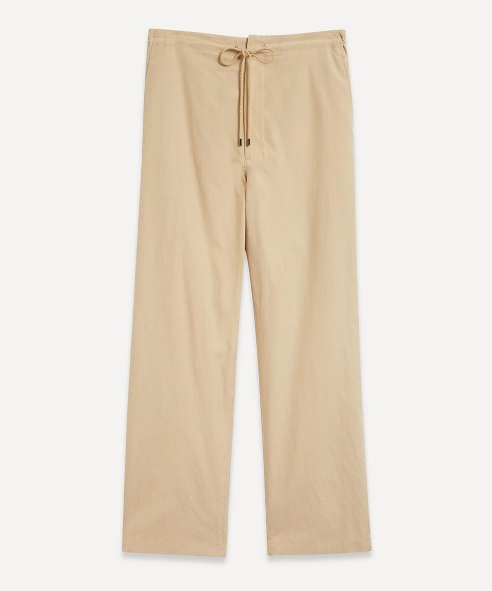 Auralee - Washed Finx Twill Easy Wide Trousers
