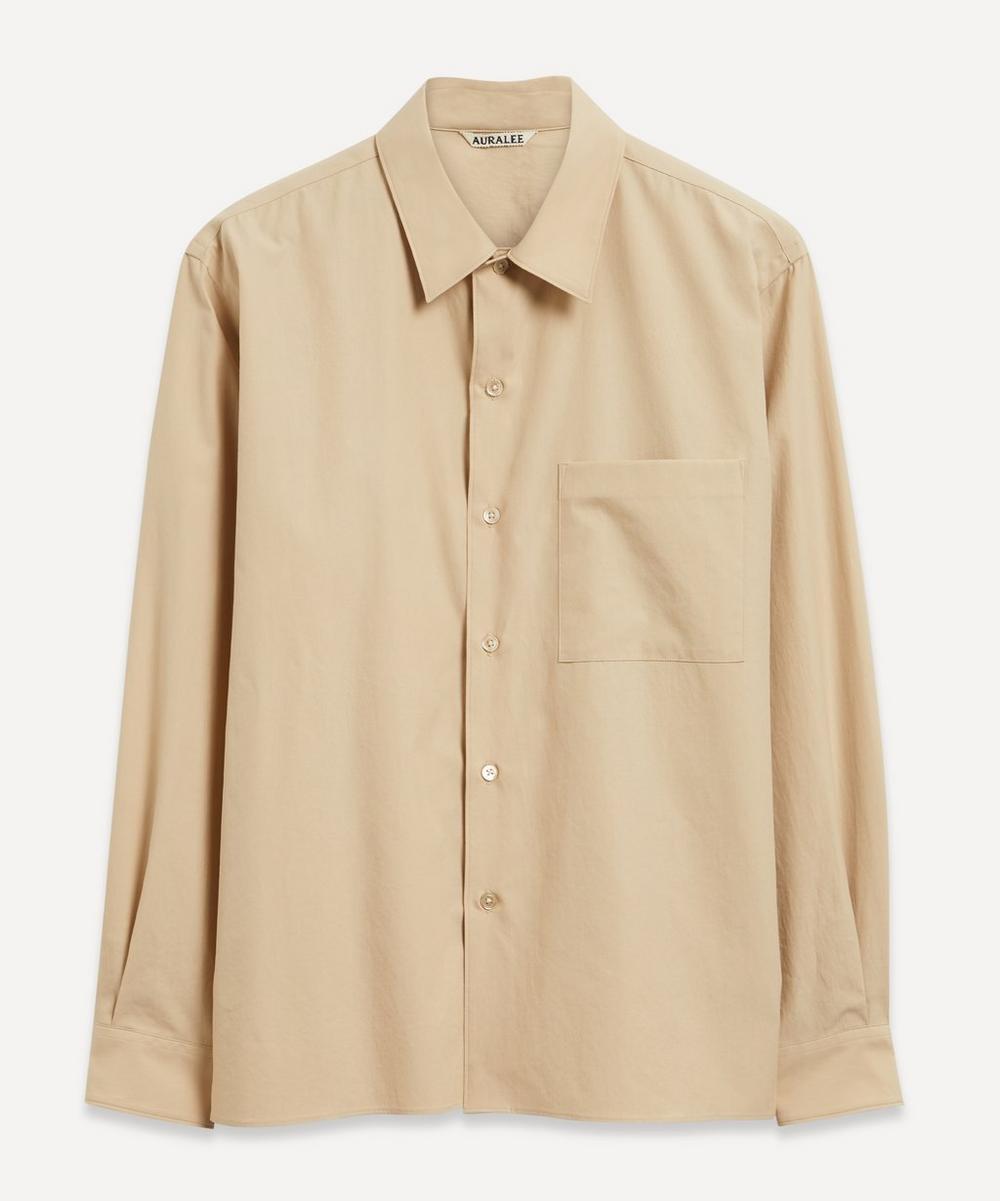 Auralee - Washed Finx Twill Box Shirt