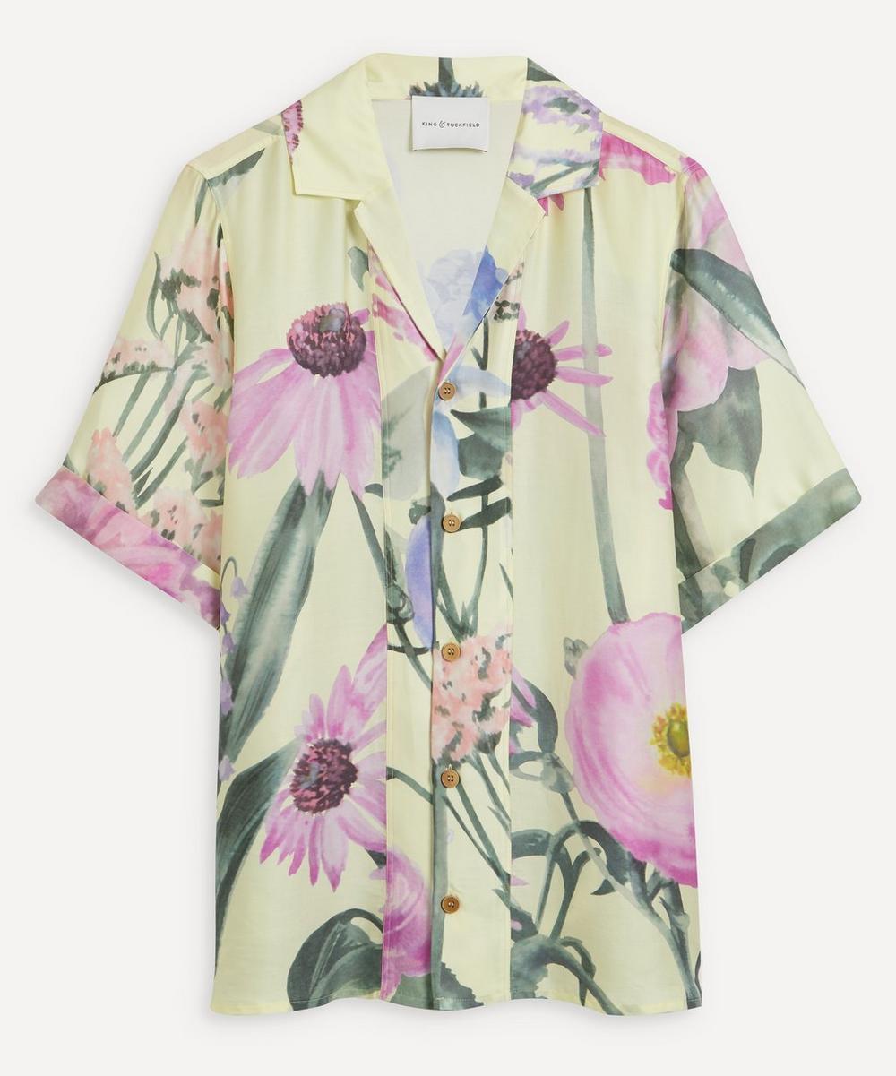 King & Tuckfield - Floral Bowling Shirt