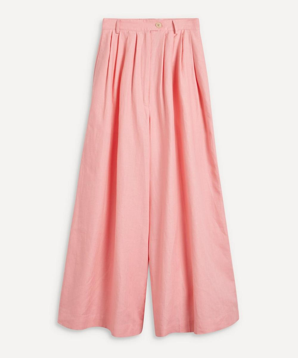 King & Tuckfield - Linen Palazzo Trousers