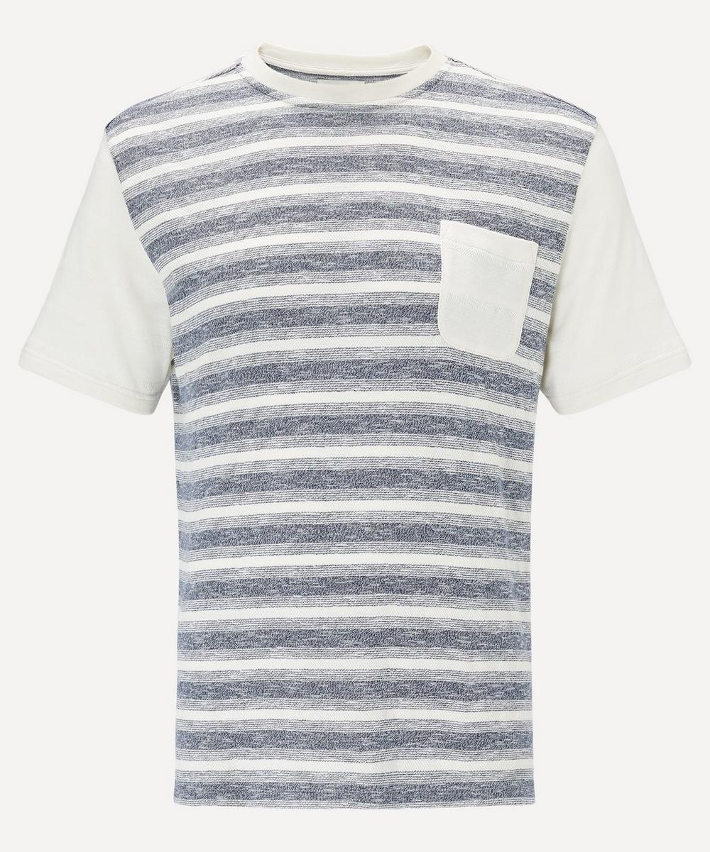 Oliver Spencer - Contrast Pocket Stripe T-Shirt