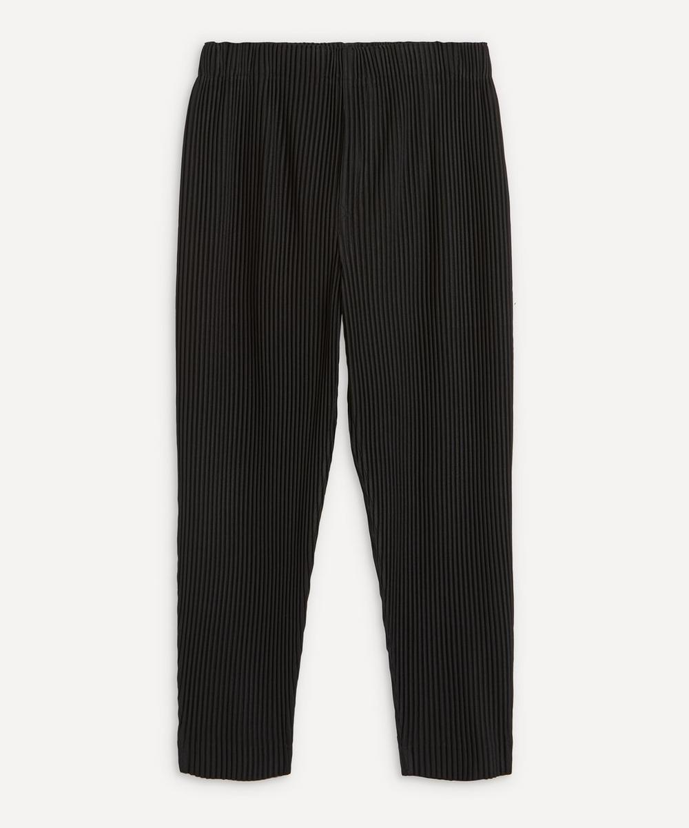 HOMME PLISSÉ ISSEY MIYAKE - Crop Tapered Trousers