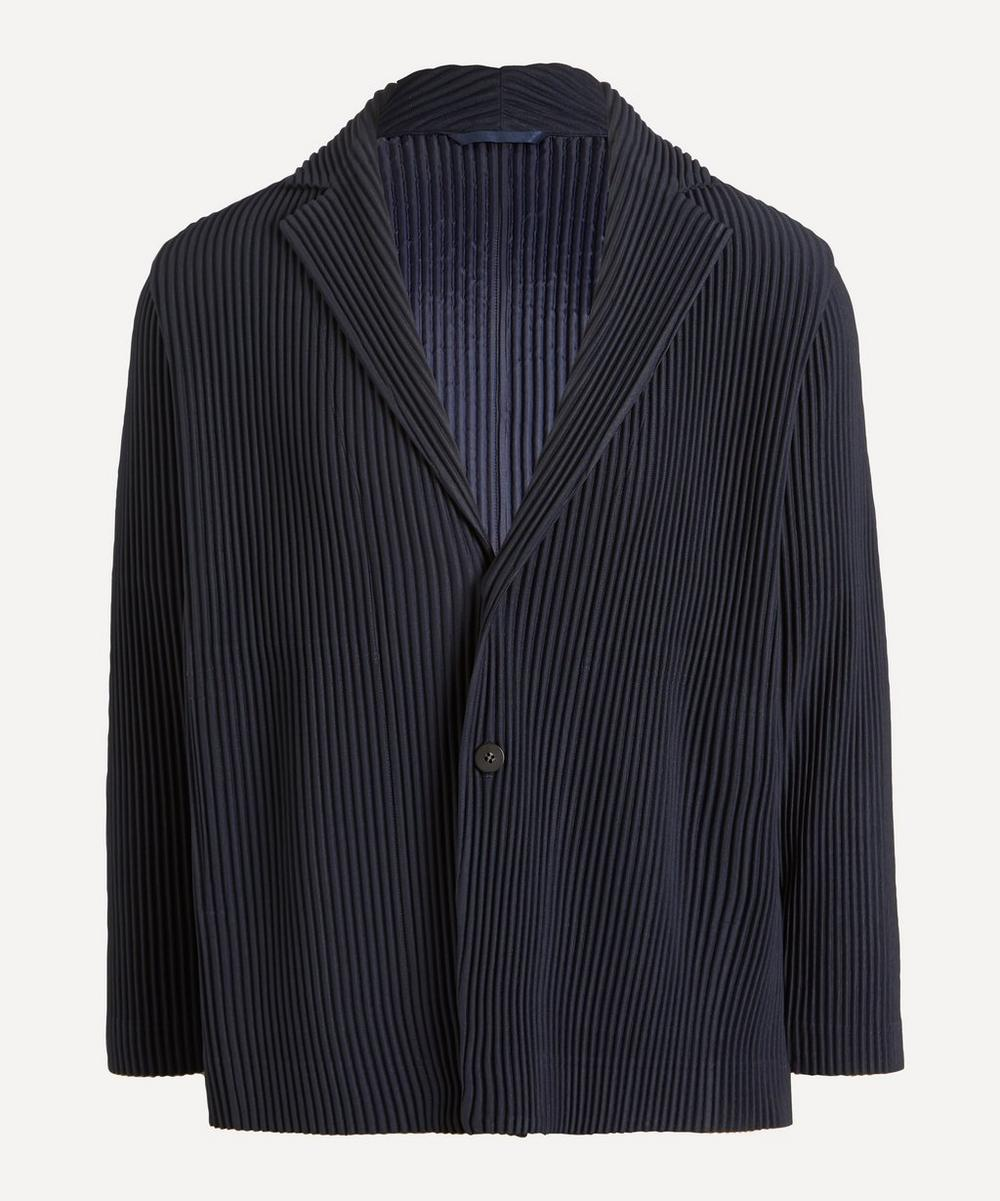 HOMME PLISSÉ ISSEY MIYAKE - Two Button Casual Blazer