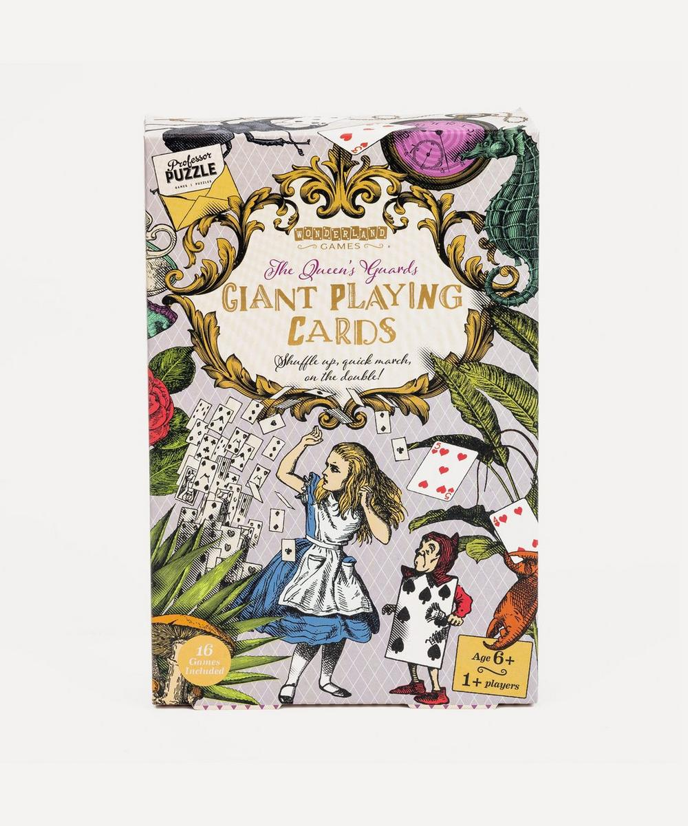 Professor Puzzle - The Queen's Guards Giant Playing Cards