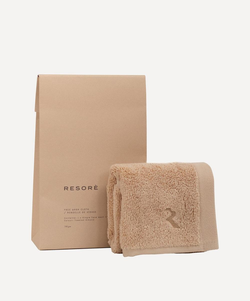Resorè - Face Towel in Toasted Almond