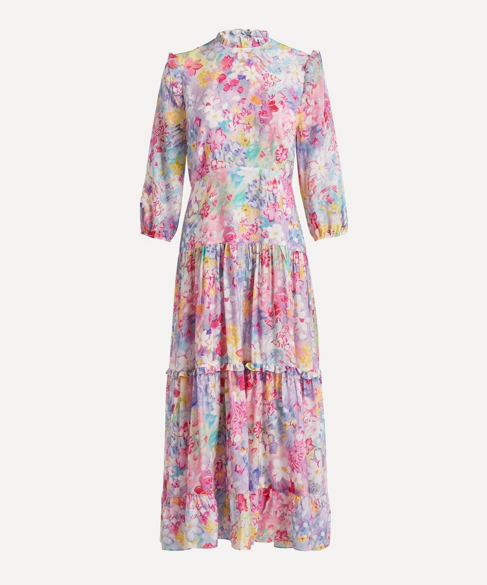 RIXO - Monet Spring Meadow Dress