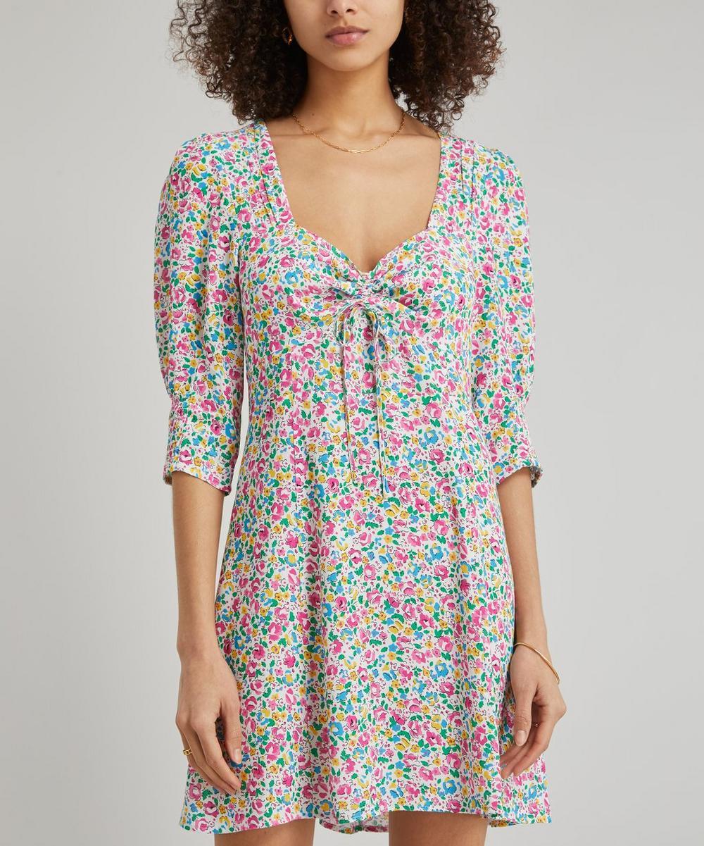 RIXO - Larissa Summer Ditsy Mini-Dress