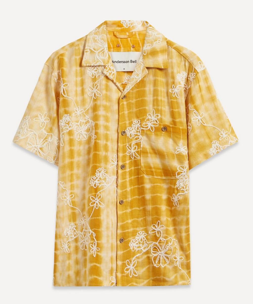Andersson Bell - Tie-Dye Embroidered Shirt