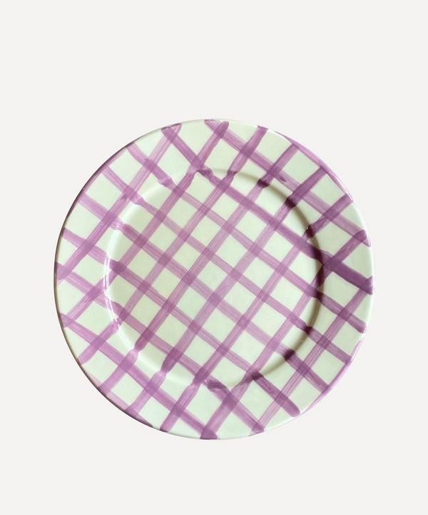 Vaisselle - Sweet Me Gingham Dessert Plate
