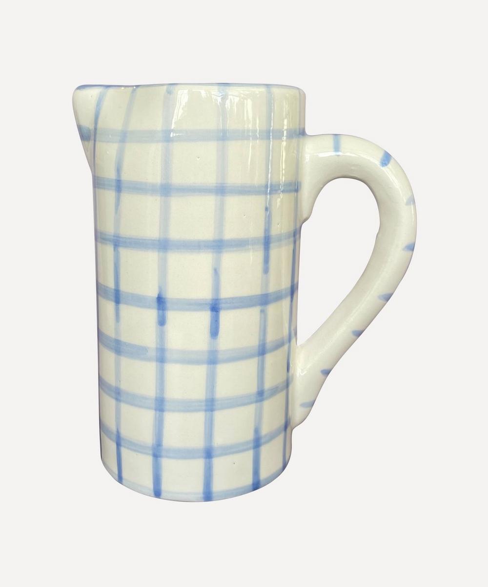 Vaisselle - Drink Me Gingham Jug