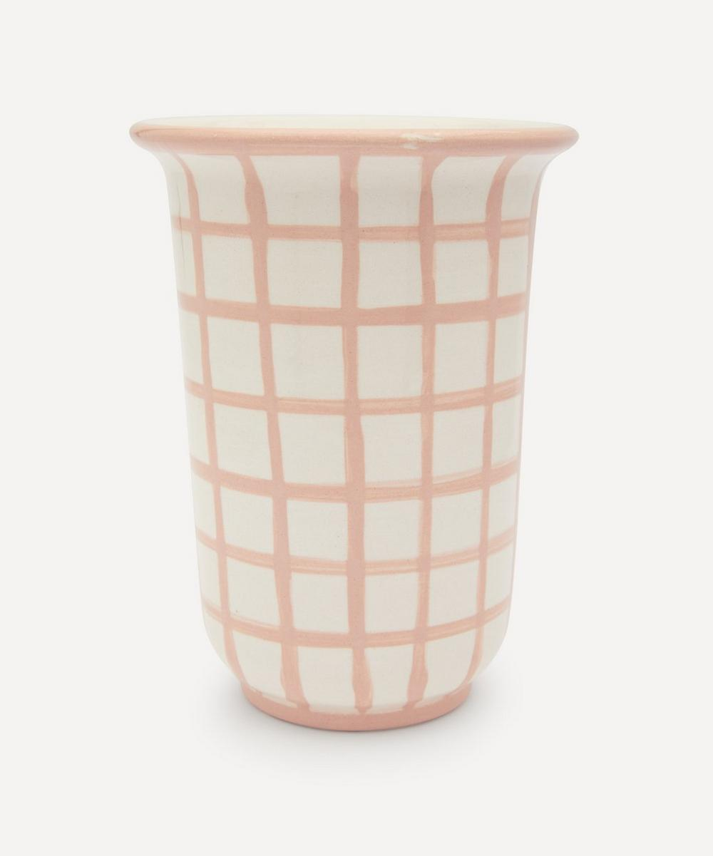 Vaisselle - Gingham Utensils Holder
