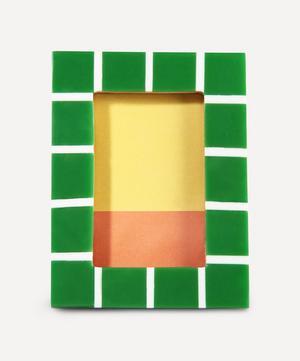 Small Rectangle Check Photo Frame