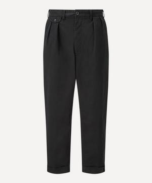 Two Pleat Twill Trousers
