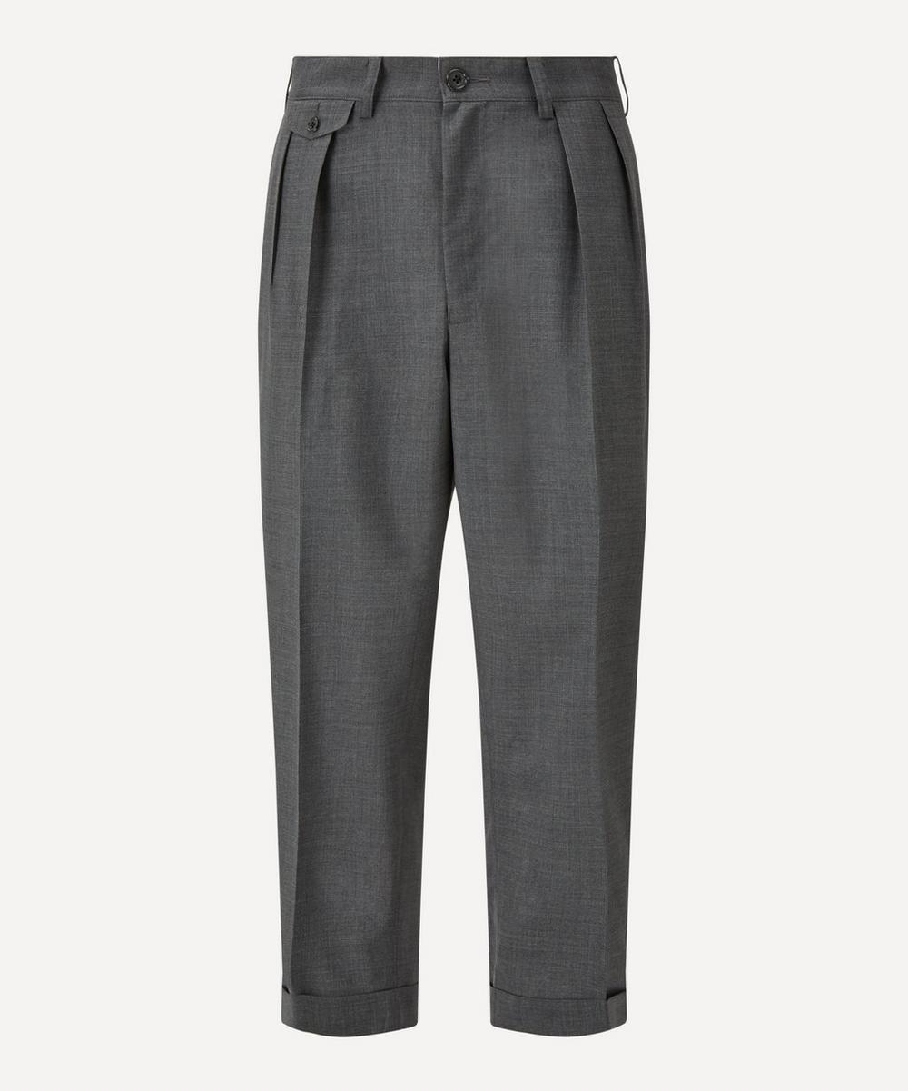 Beams Plus - Two Pleat Tropical Wool Trousers