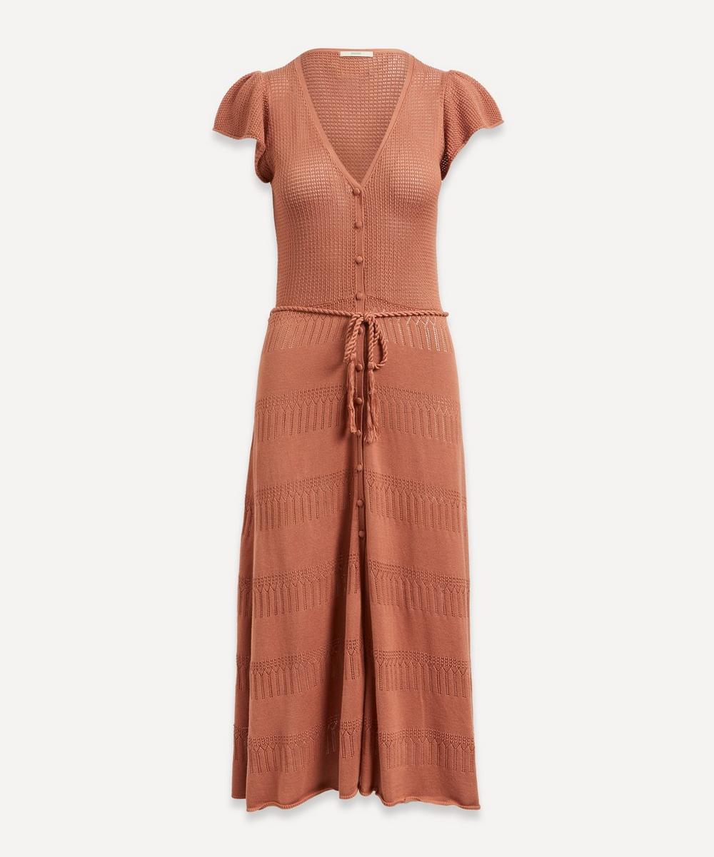Sessùn - Alova Button-Up Knit Dress