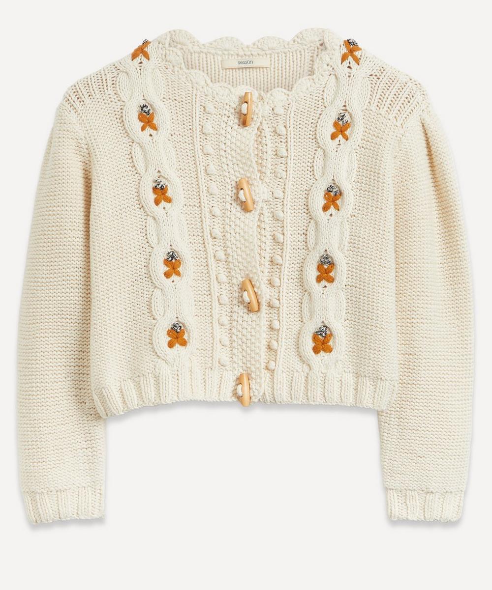 Sessùn - Tesoro Cable-Knit Cardigan
