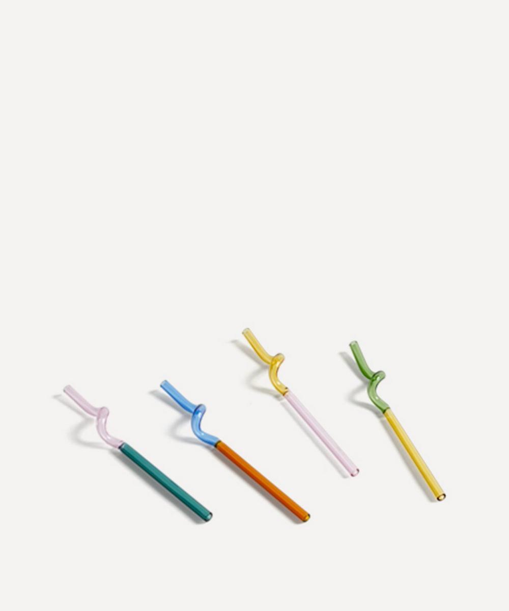 Hay - Sip Spiral Straws Set of Four