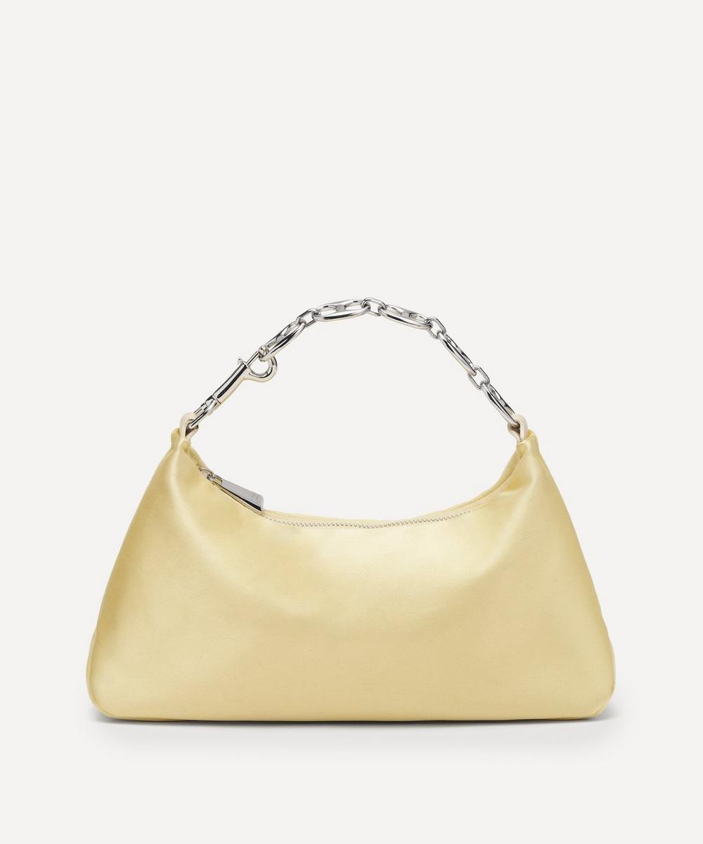 Danse Lente - Small Misty Satin Handbag