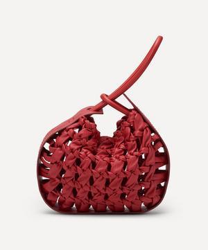 Lake Weave Leather Handbag