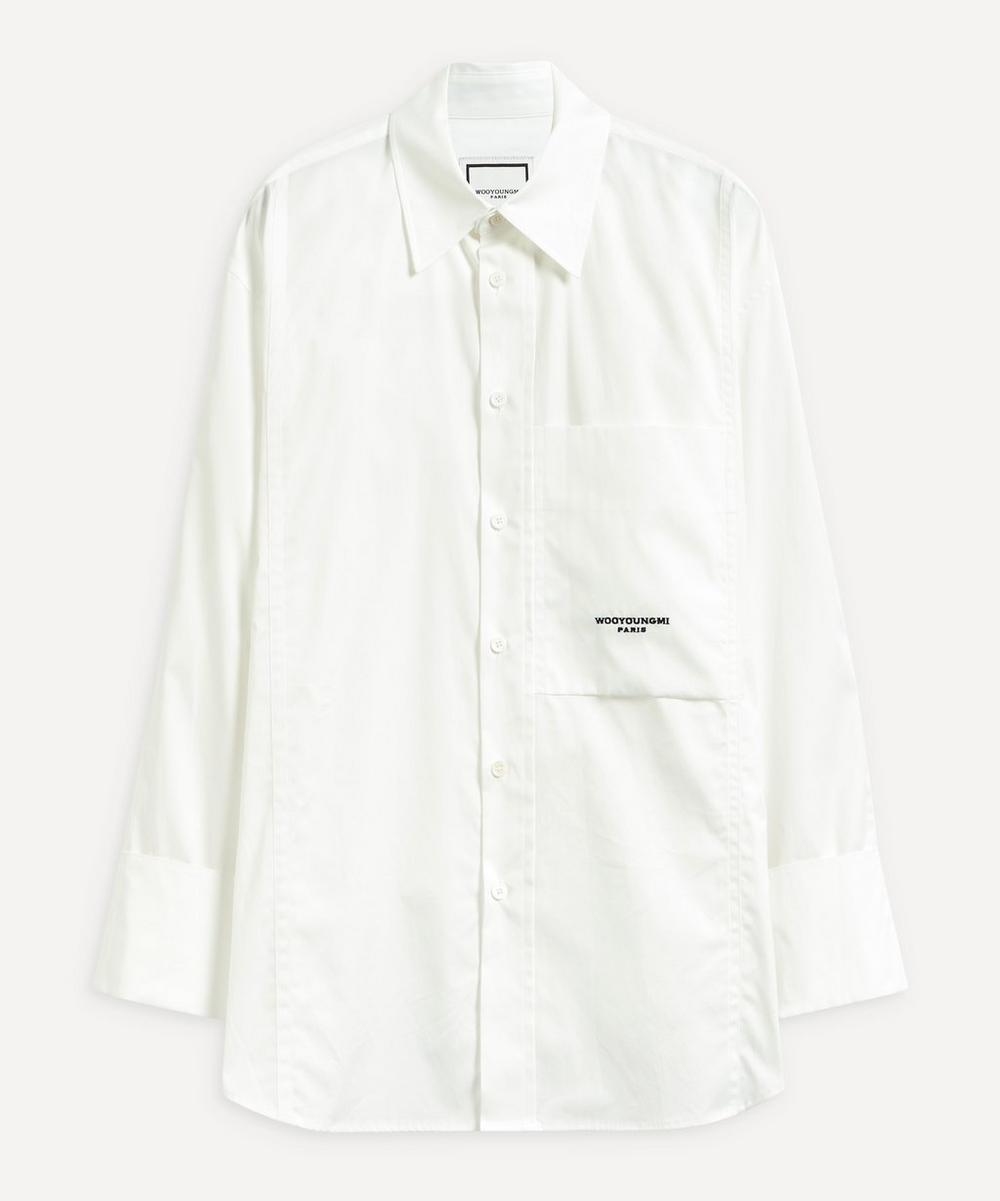 Wooyoungmi - Oversized One Pocket Shirt