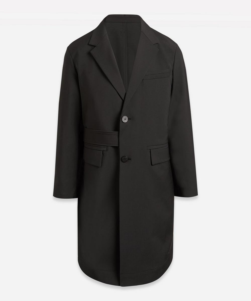 Wooyoungmi - Formal Side-Tie Wool-Mix Coat