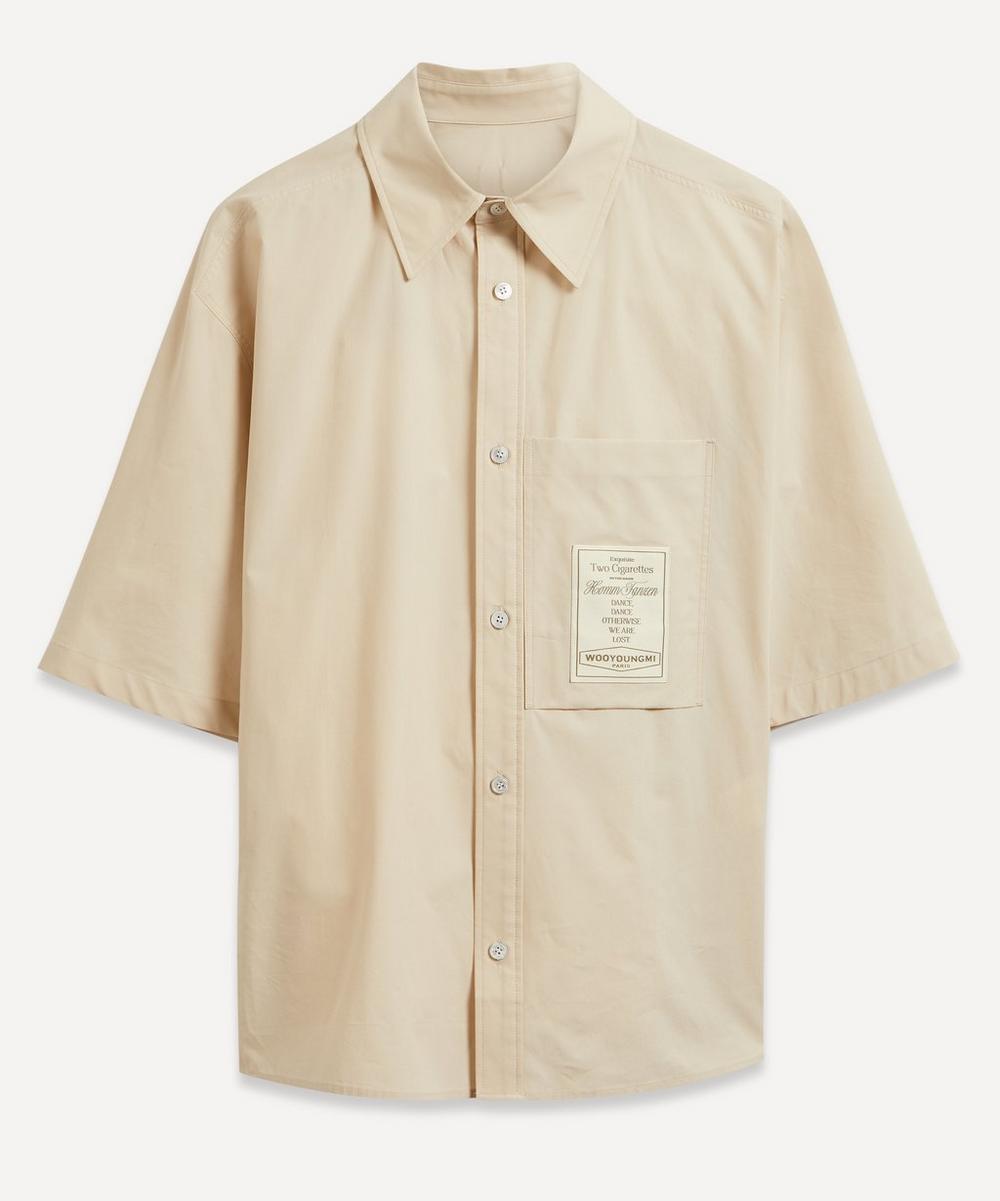 Wooyoungmi - Carton Logo Short-Sleeve Shirt