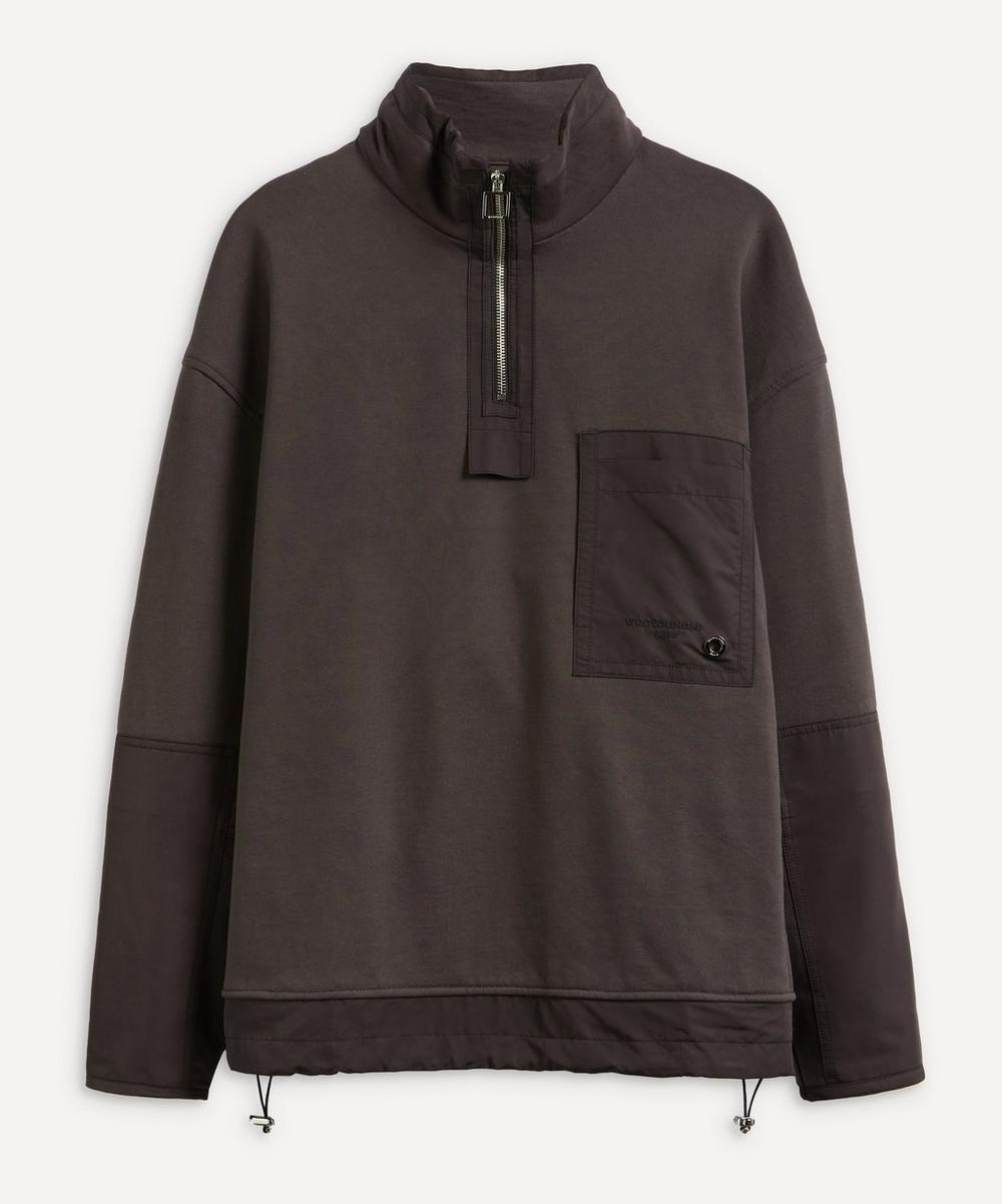 Wooyoungmi - Half Zip Tech Sweat Jacket
