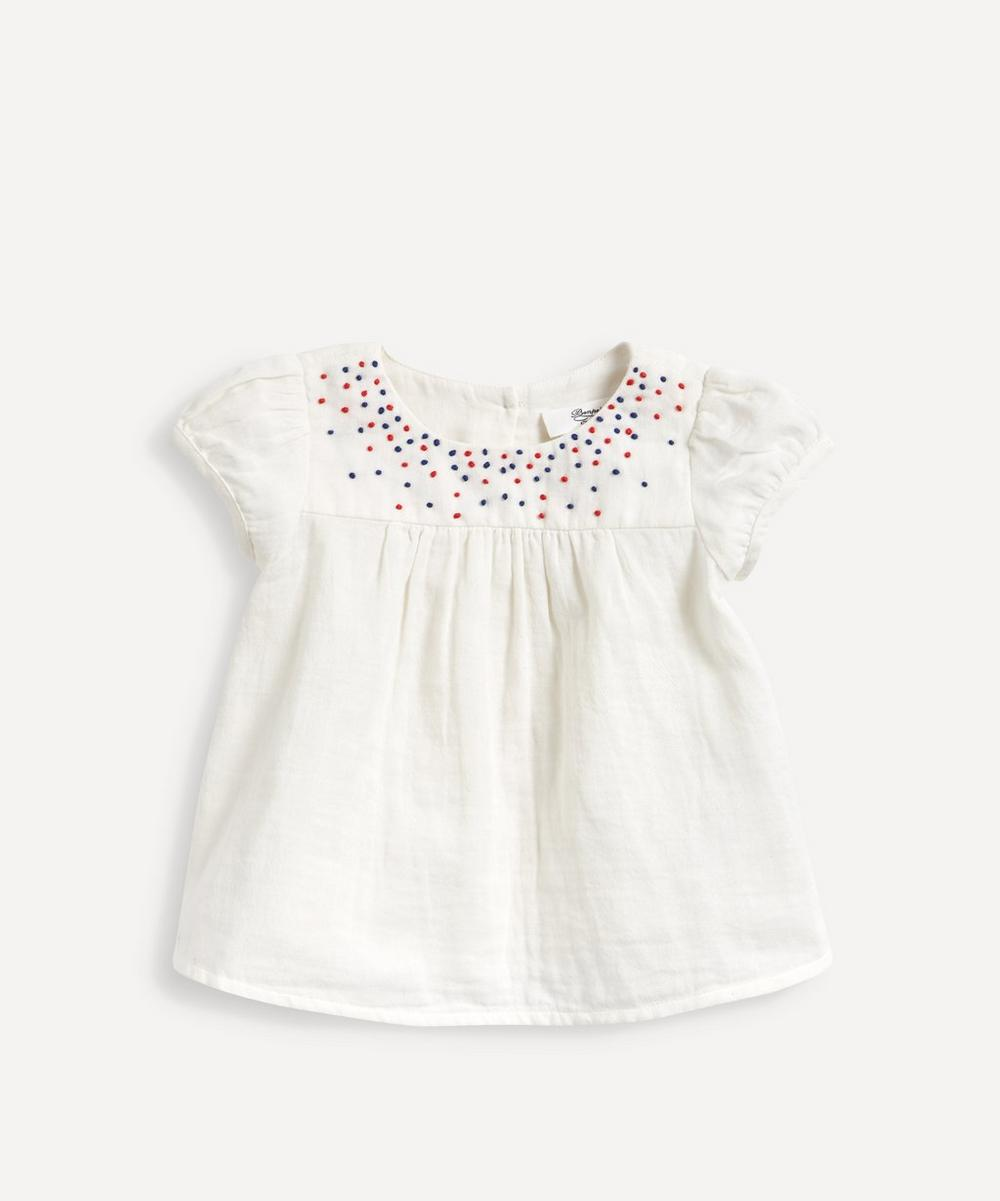 Bonpoint - Embroidered Blouse 6-18 Months