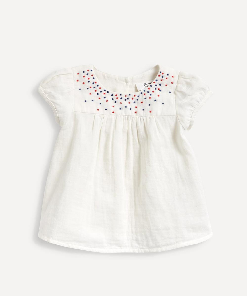 Bonpoint - Embroidered Blouse 18 Months-2 Years