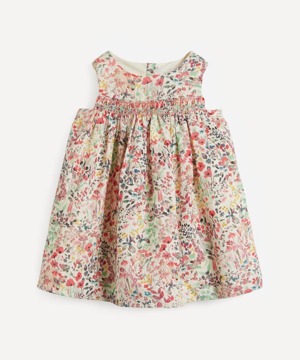 Bonpoint - Floral Sleeveless Smocked Dress 2 Years