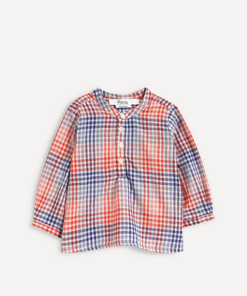 Bonpoint - Polisson Checked Tunic 6-18 Months