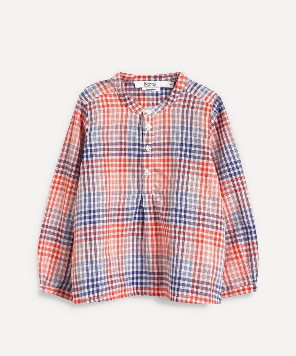 Bonpoint - Polisson Checked Tunic 18 Months-2 Years