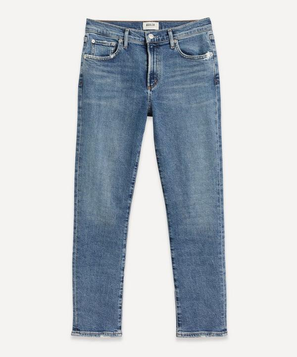 AGOLDE - Toni Slim-Leg Straight Jeans