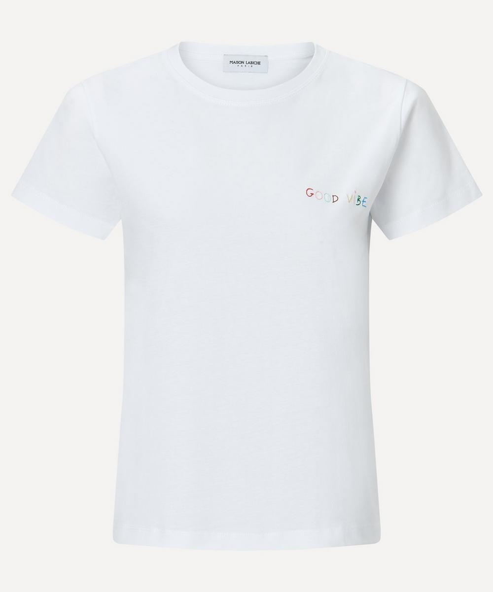 Maison Labiche - Good Vibe Crew-Neck Organic Cotton T-Shirt
