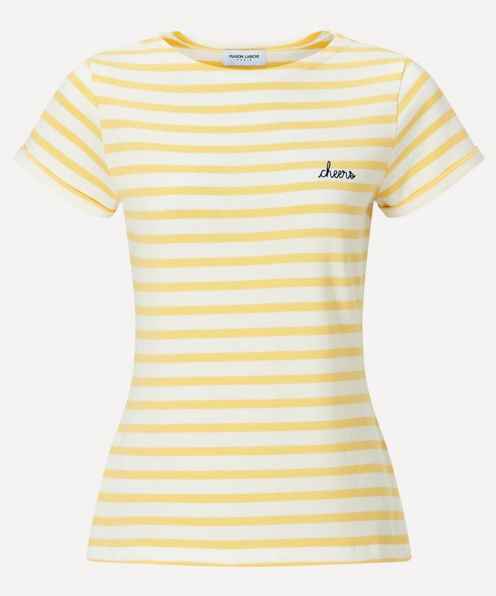 Maison Labiche - Cheers Striped Organic Cotton Sailor T-Shirt