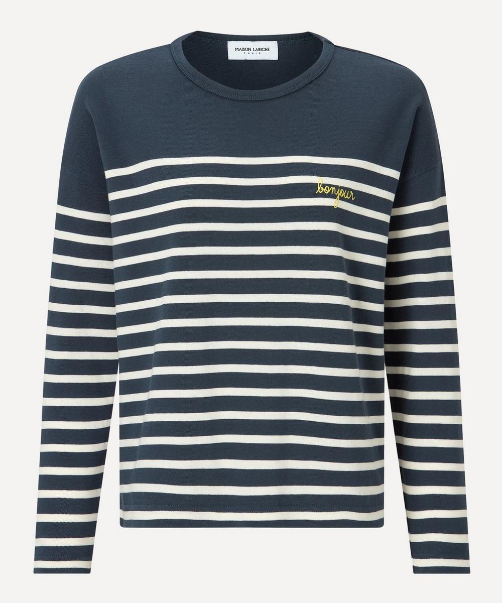 Maison Labiche - Bonjour Sailor Organic Cotton Long-Sleeve T-Shirt