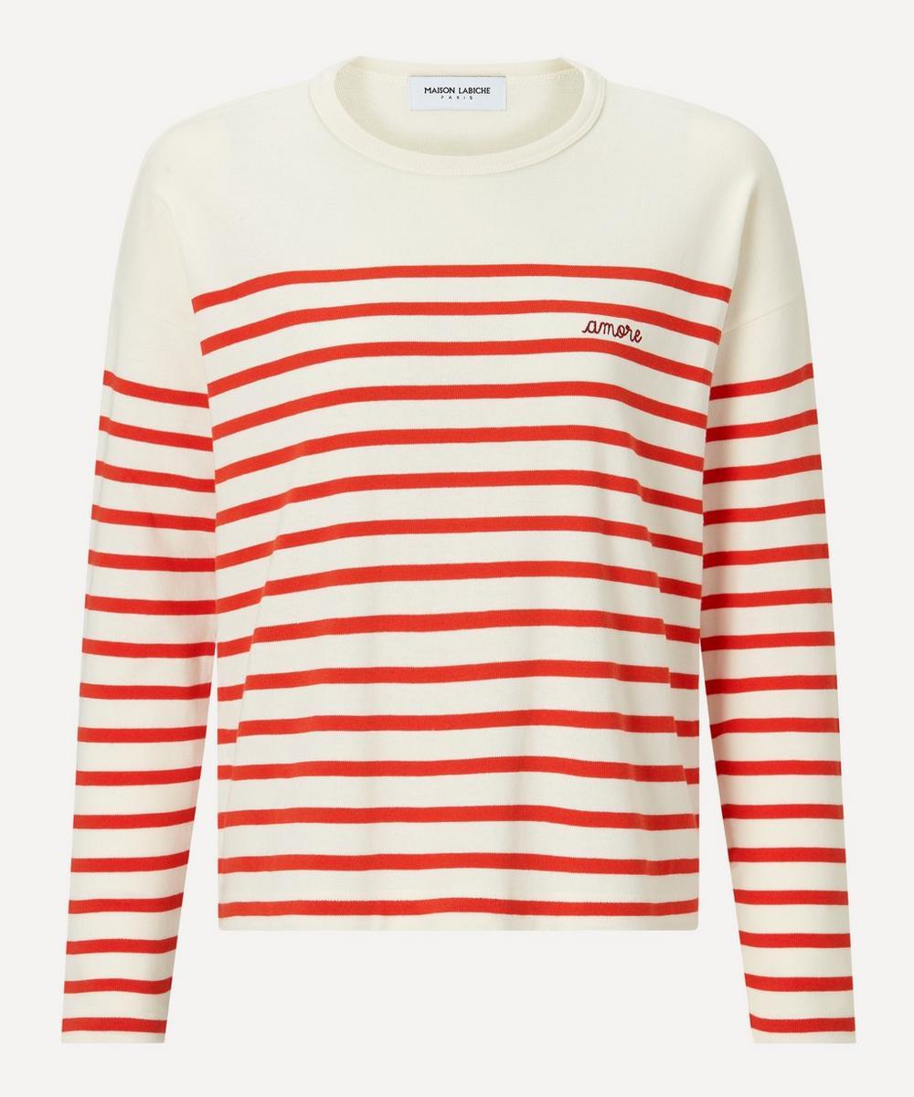 Maison Labiche - Amore Sailor Organic Cotton Long-Sleeve T-Shirt