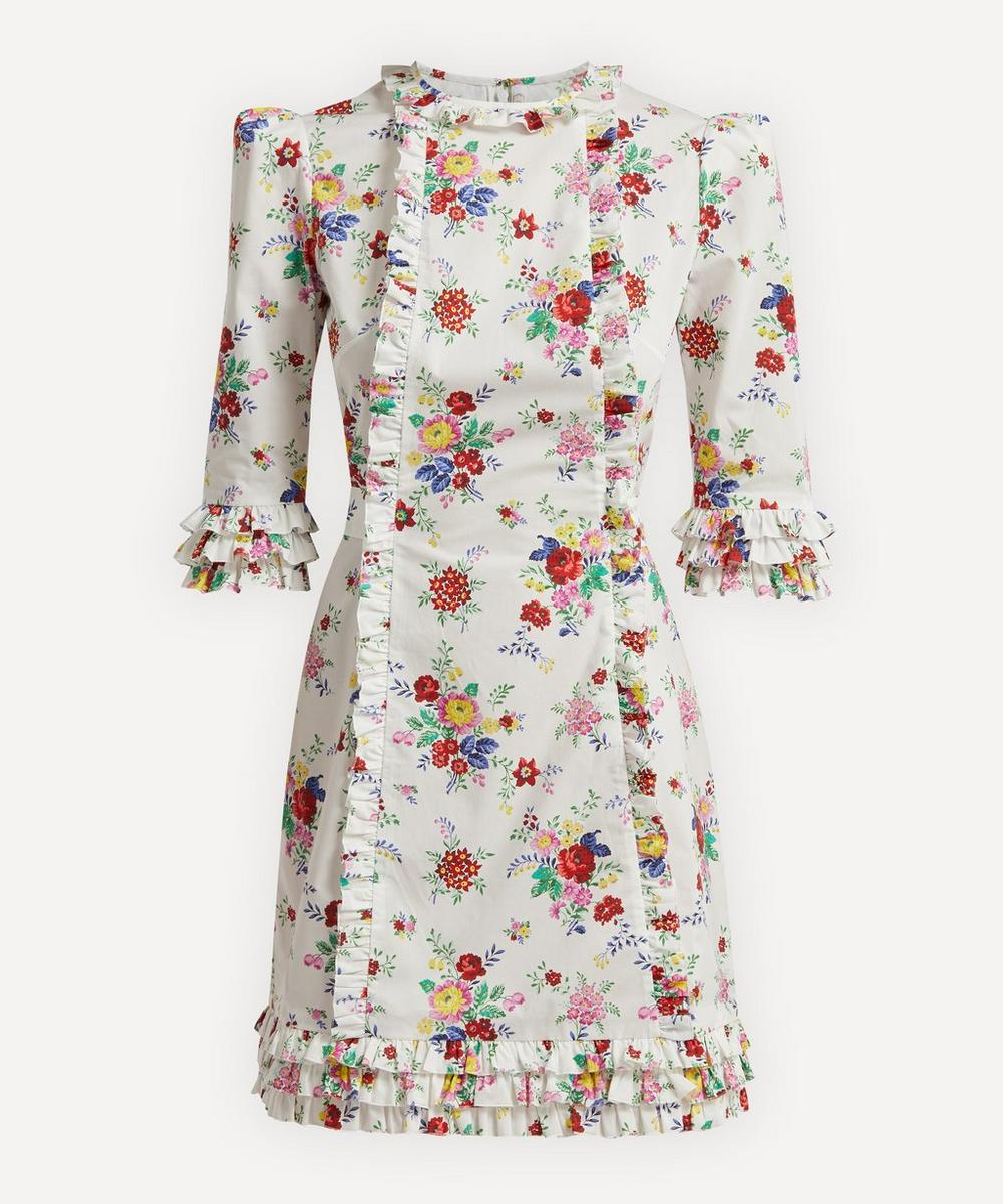 The Vampire's Wife - The Cate Floral Mini-Dress