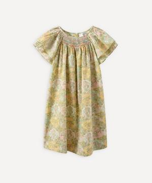 Salome Floral Smocked Dress 4 Years